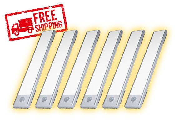 4 Pack of Atomic Sun Blades; Free shipping stamp in corner