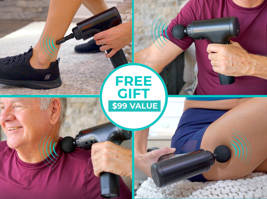 Free Gift: Body Buzz Massager valued $99