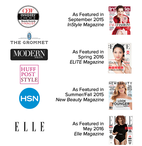 VOLOOM hair volumizing iron: As featured in InStyle, Elle, HSN, Huffington Post and many more