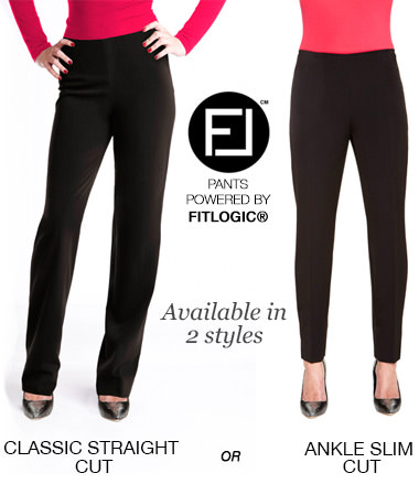 Available in 2 styles: Classic Straight Cut or Ankle Slim Cut