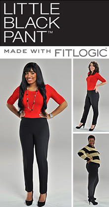 Little Black Pant Made with FitLogic