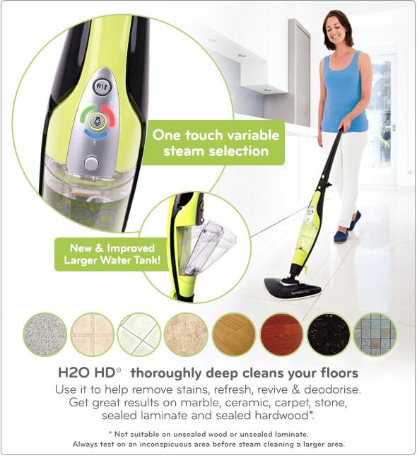 h2o hd steam mop instruction manual