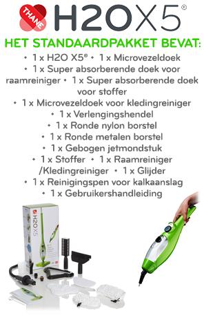 H2O X5 - Onderdelen standaardpakket