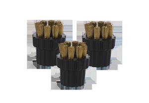 H2O® - 3 x Brass Borstels