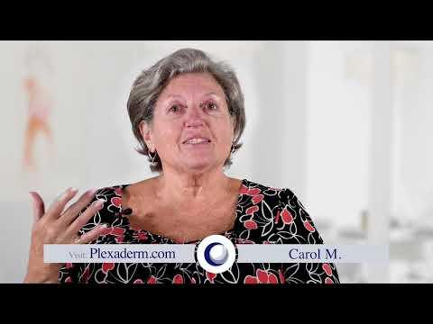 Carol Testimonial of how she found plexaderm a miracle