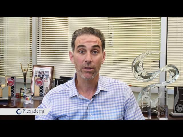 CEO Jonathan Greenhut shares the story of Plexaderm