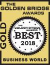 Plexaderm is the Golden Bridge Awards' Best New Product