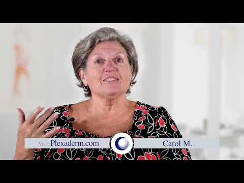 Carol Testimonial of how she found plexaderm a miracle