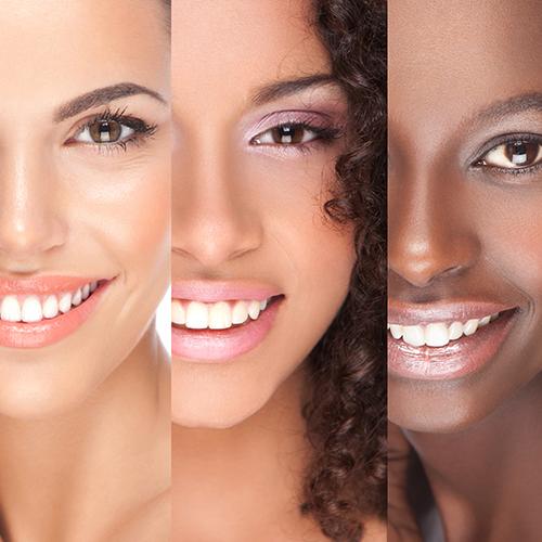 Does skin tone affect wrinkles?