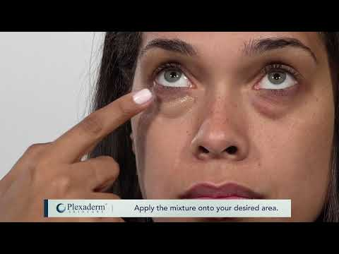 How to apply liquid foundation makeup with plexaderm instructional video