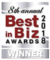 best in biz awards silver winner