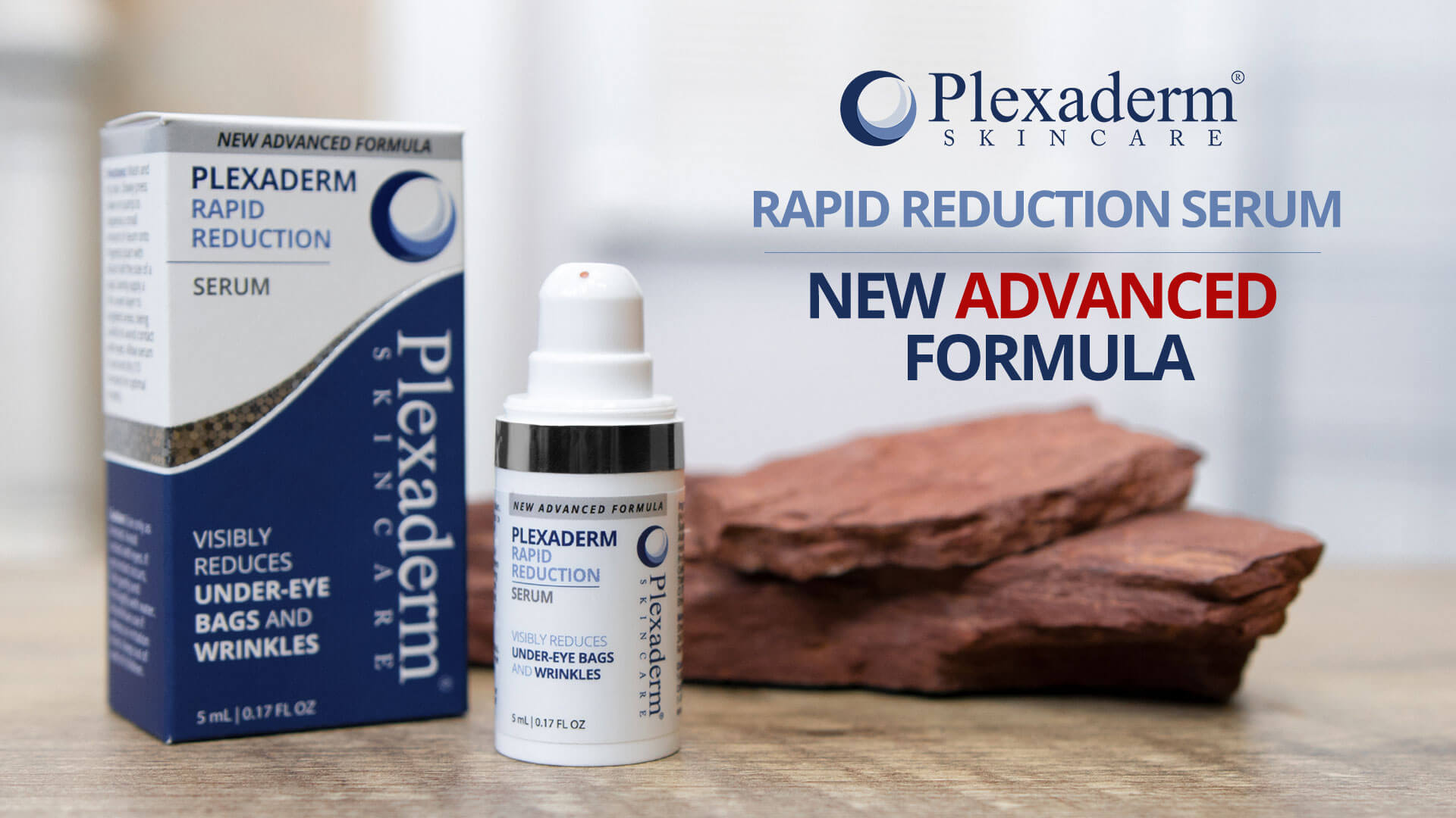 Plexaderm Rapid Reduction Serum - 3 Bottles New Advanced Formula