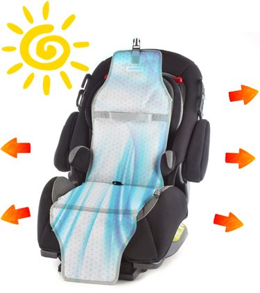 Now You Wont Ever Have To Worry About Putting Your Kids In A Hot Car Seat Again