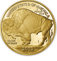 Recreates The First 9999 Fine 24 Karat Gold Coin Struck By U S Government And One Of Purest Coins Ever Minted