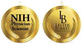 NIH Physician-Scientist Award and Lester Burkett Memorial Award