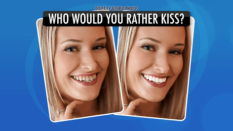 Who would you rather kiss?