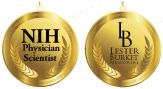 NIH Physician-Scientist Award and Lester Burkett Memorial Award