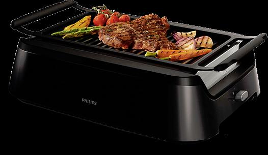 Philips Smokeless Indoor Electric Grill Virtually No Smoke