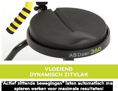 AbDoer 360 - Dynamisch zitvlak