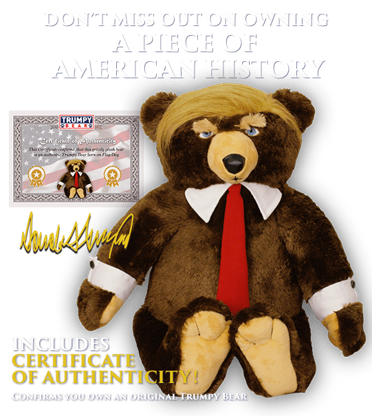 trumpy bear official website